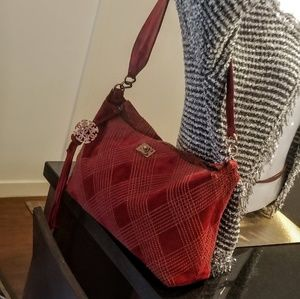 Authentic chanel suade tote